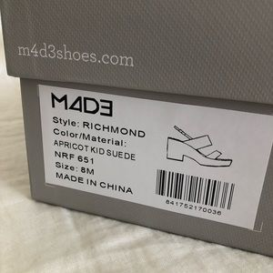 dc28381b9d8f2c Nordstrom Shoes - New in box M4D3 pink Richmond Platform Sandals
